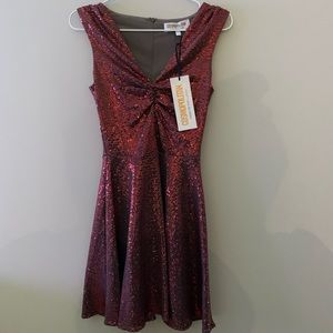 Sparkly Red Dress by Cosmopolitan